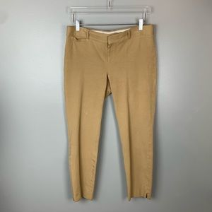 🌟 Banana Republic | Tan Sloan Fit Crop Pants